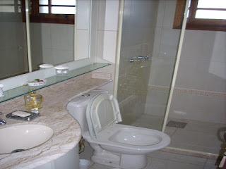 Banheiro temporada Gramado