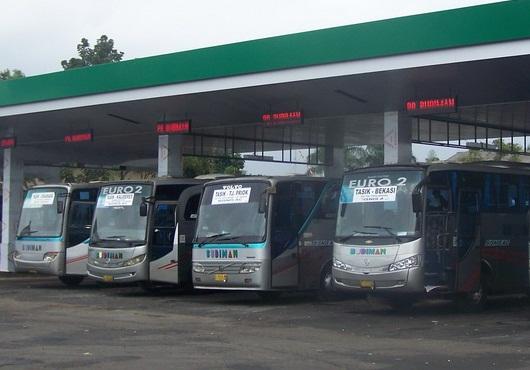 Terminal atau po bus  yang ada tasikmalaya