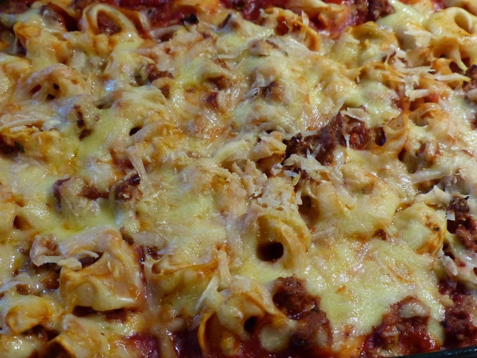tortellini auflauf mit hackfleisch