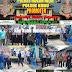 Polsek Kubu Bersama Camat Distribusikan Logistik Pemilu Tahun 2019