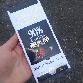 Lindt Excellence 90% Cocoa Supreme Dark Chocolate