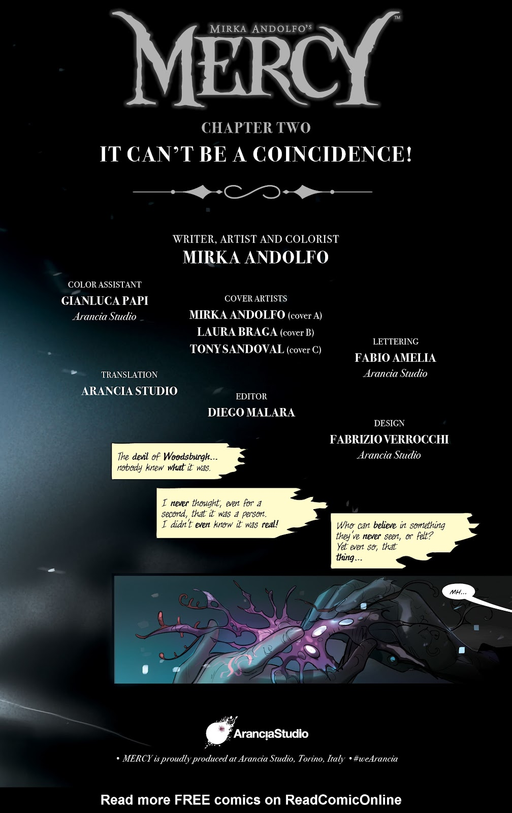 Read online Mirka Andolfo's Mercy comic -  Issue #2 - 5