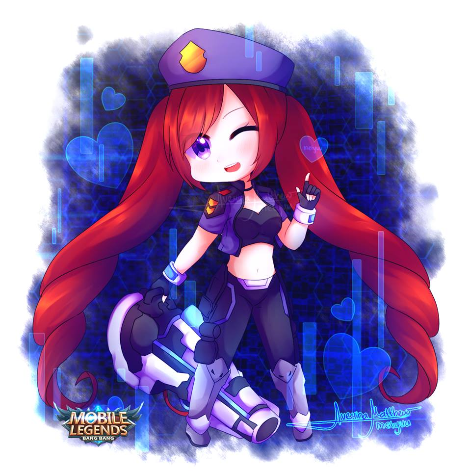 Alucard Child Of The Fall Wallpaper 50 Fanart Chibi Mobile Legends By Averina Matthew Metyuu