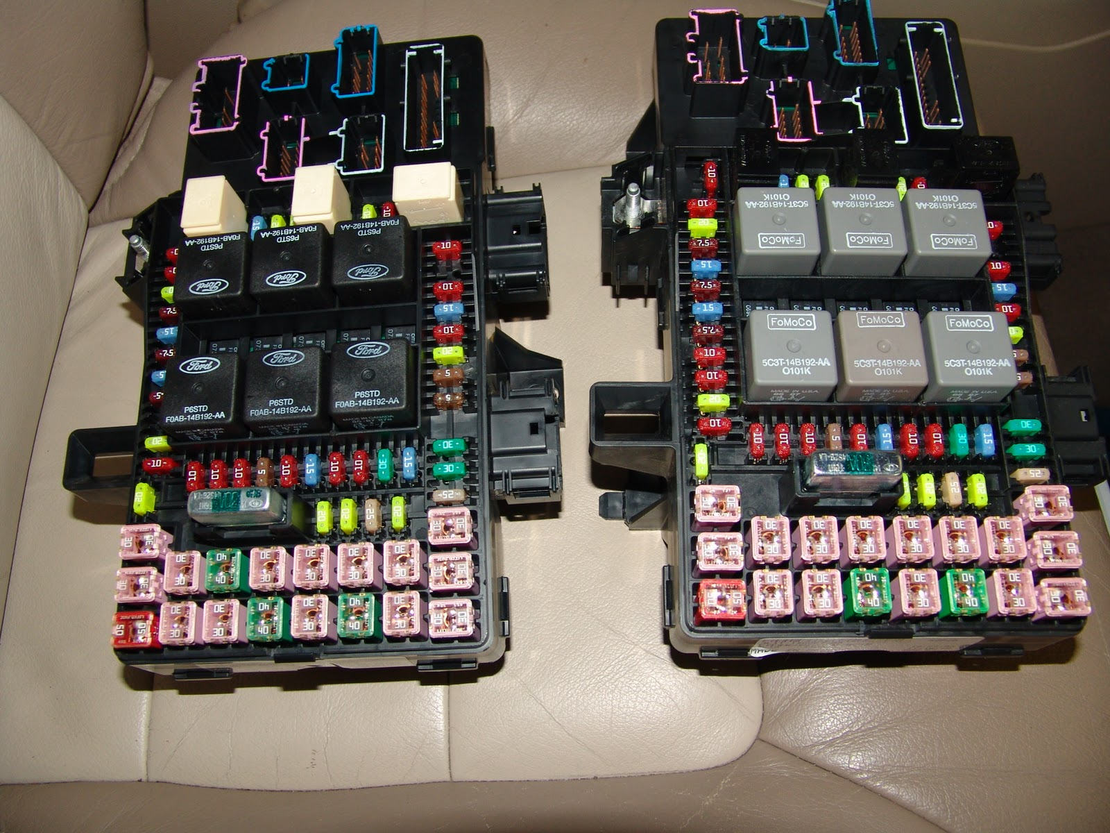 2010 Ford Expedition Fuse Box  Wiring Data