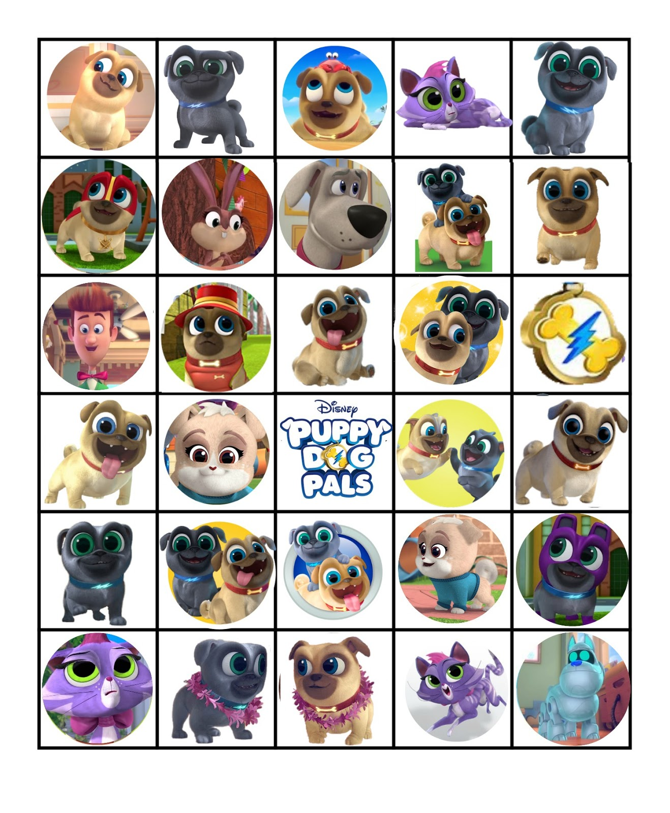 photo about Bingo Patterns Printable titled Musings of an Typical Mother: Absolutely free Printable Dog Puppy Good friends BIngo