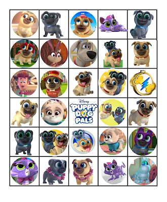 puppy dog pals party games