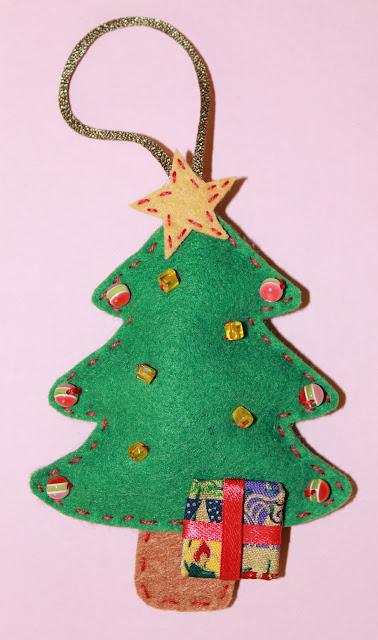 navidad fieltro