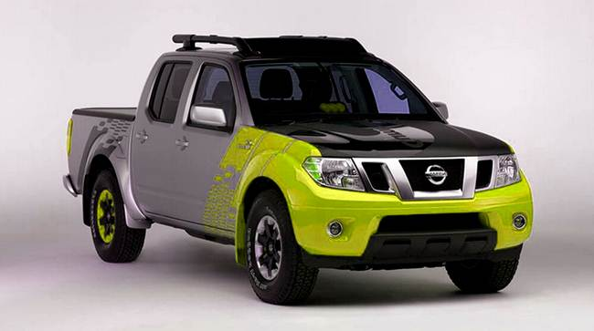 2017 Nissan Frontier Engine
