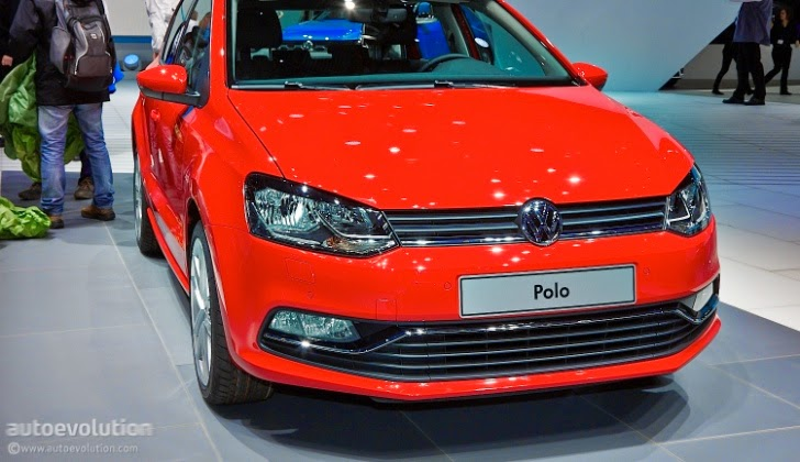 Volkswagen polo facelift wallpaper