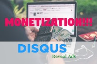 Disqus Reveal Ads Guideline - Additional Earnings From Comments