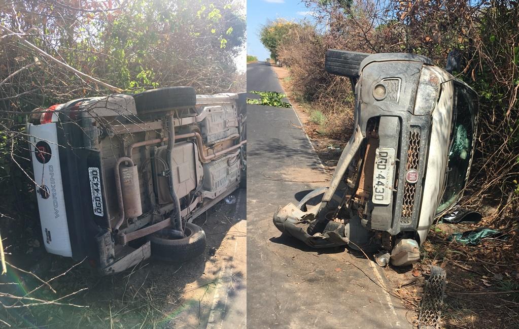 MA 230 registra dois acidentes de carro nesta segunda-feira, entre Chapadinha e Anapurus.
