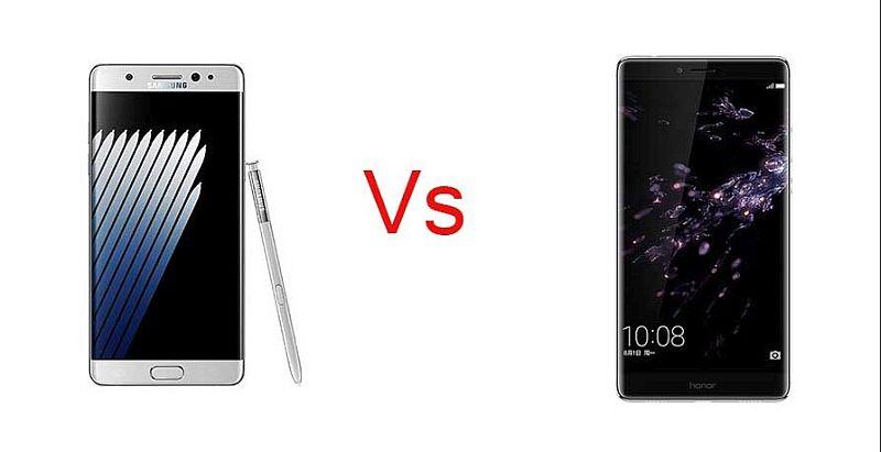 Samsung Galaxy Note 8 VS Note 7