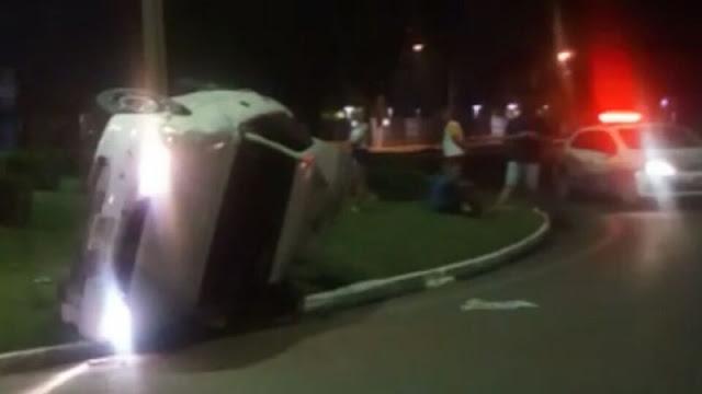 Motorista jovem de 18 anos morre após capotamento no setor norte de Porto Velho