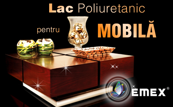 Lac bicomponent poliuretanic mobila