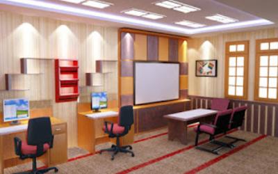 desain tempat kerja yang nyaman dan indah