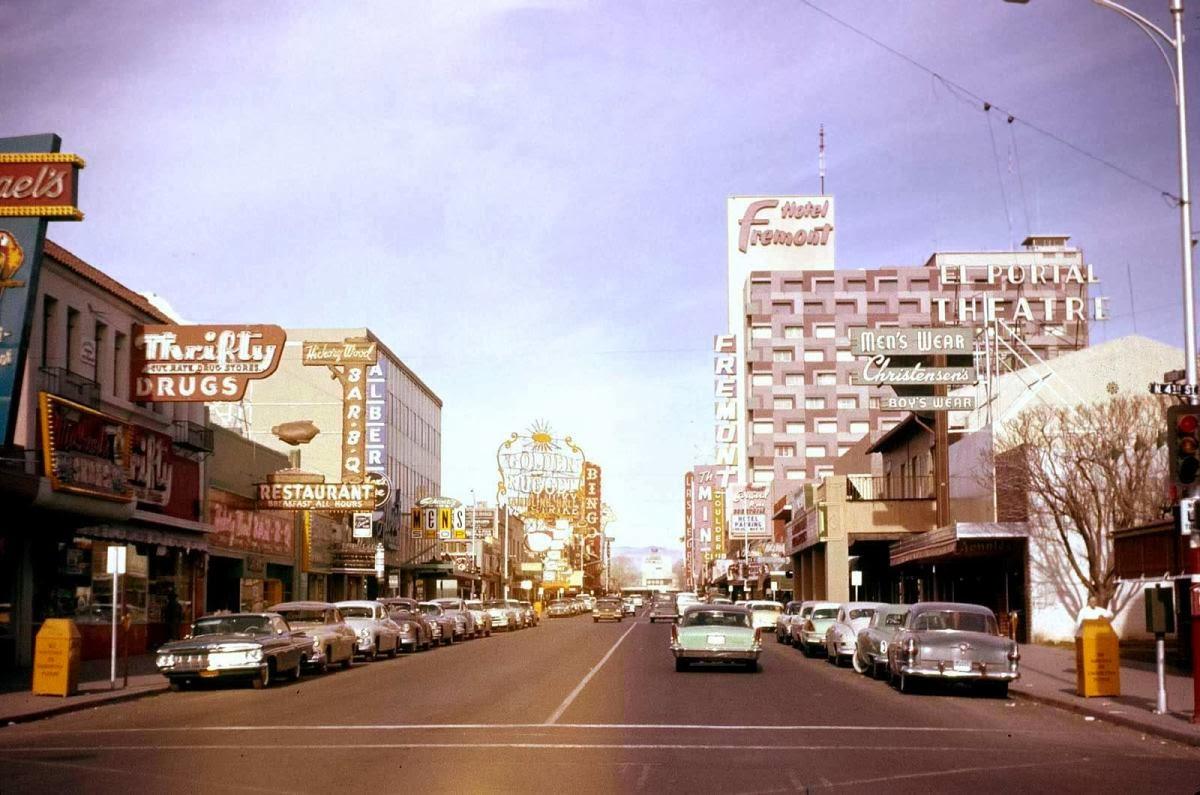 Las Vegas Of 1959 Vintage Everyday