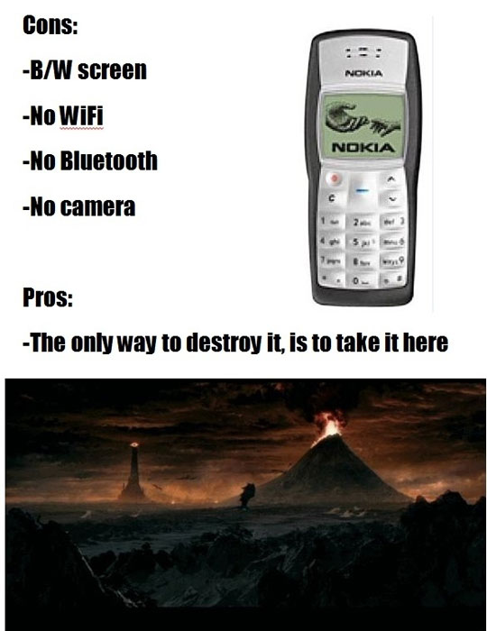 pros and cons of a legendary phone