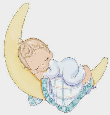 Sleeping baby clip art
