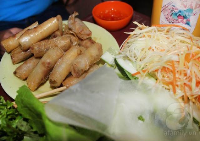 Ram cuốn cải - Món ăn hấp dẫn và rất đáng thử khi đến Đà Nẵng