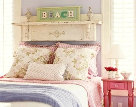 Shabby Chic Beach Cottage Bedroom Decor Ideas