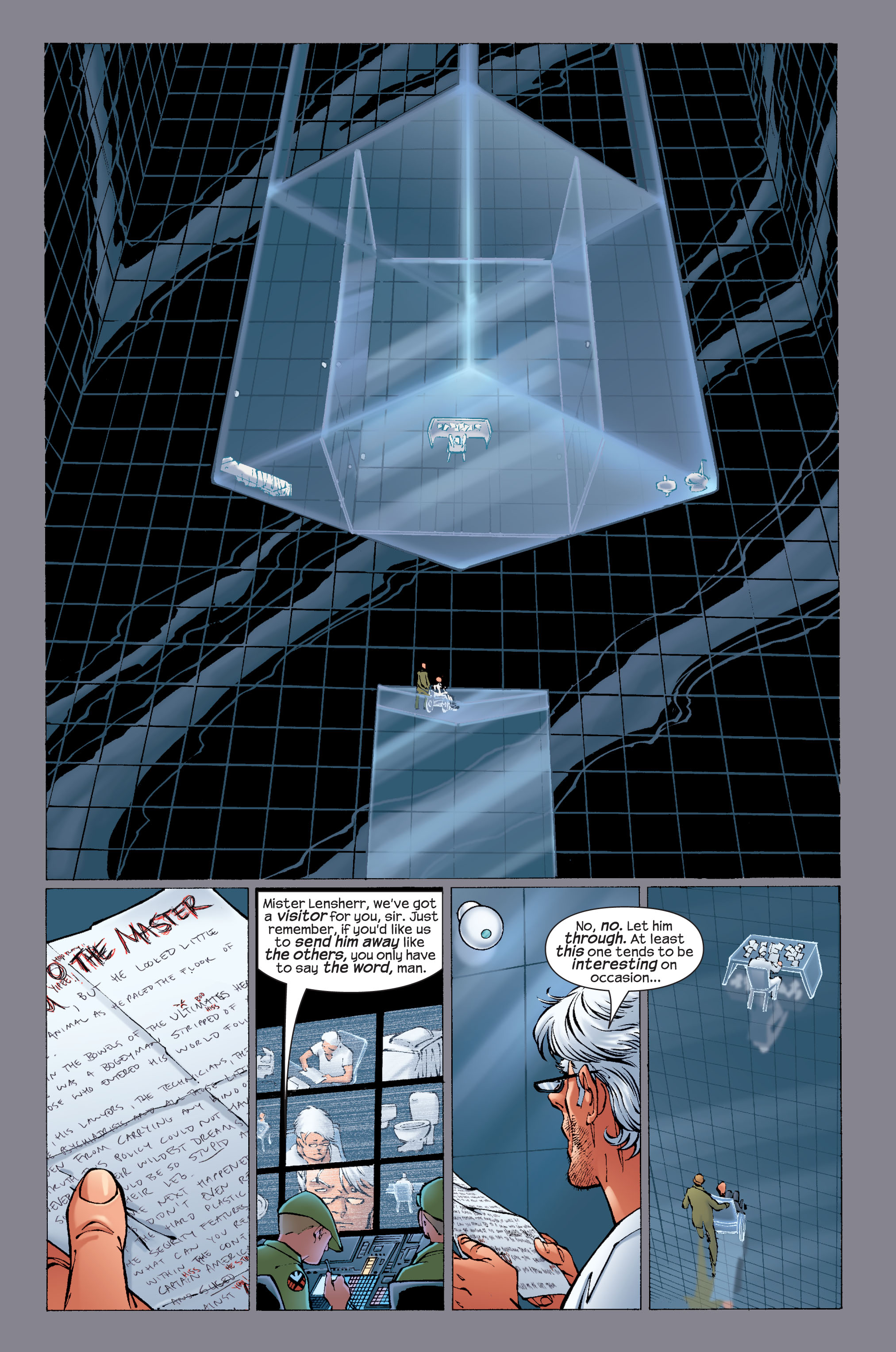 Read online Ultimate X-Men comic -  Issue #33 - 6