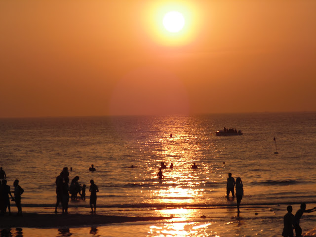 Sunset on Kashid Beach