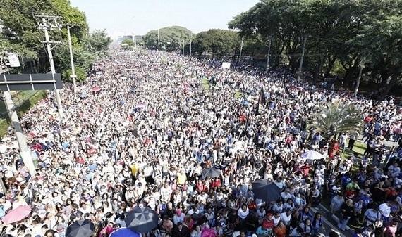 Millones de personas marchan por Jesús