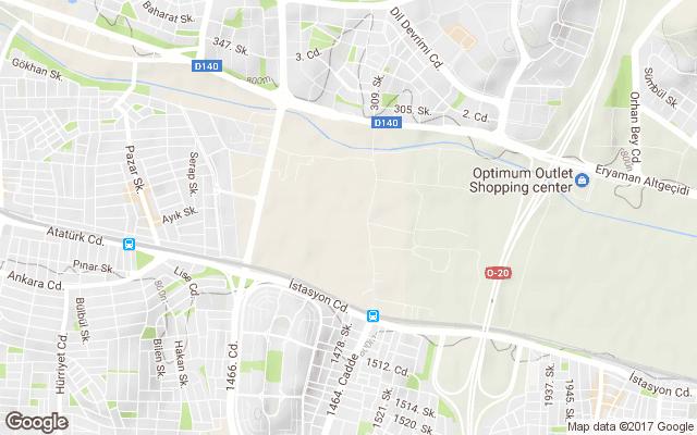 yeşilova mahallesi harita