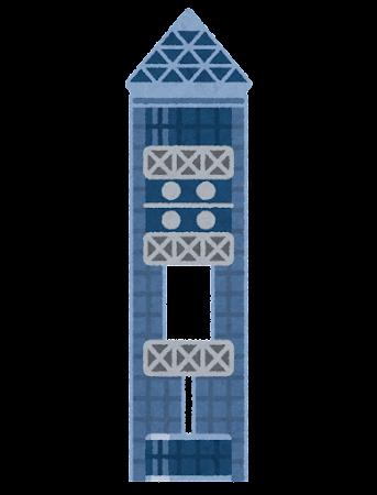 東山スカイタワーのイラスト