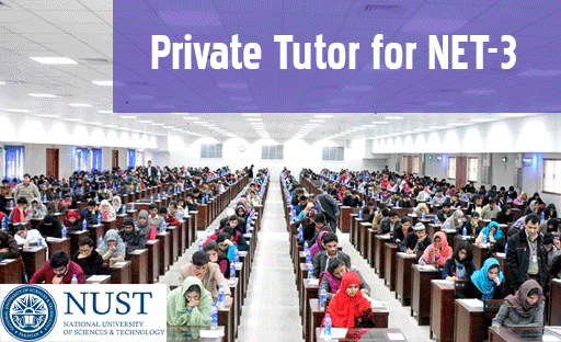 tutor for nust admission test preparation in Islamabad