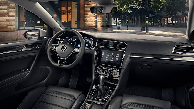 Novo VW Golf 2017 - interior - painel