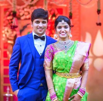 Varsha-Reddy-Prabhu-Thej -engagement