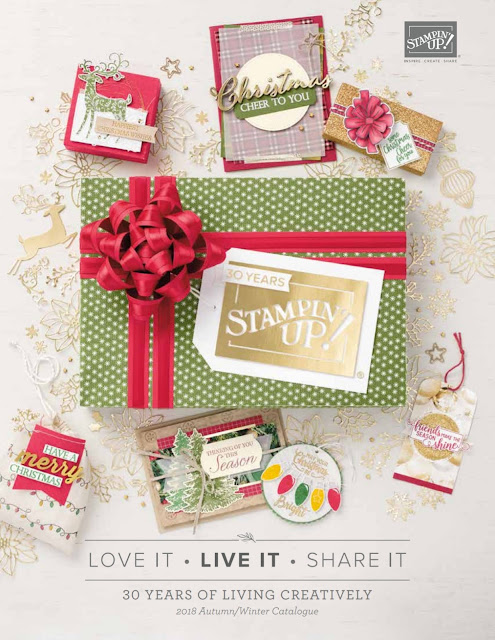 STAMPIN' UP! HOLIDAY CATALOG 2018 - MyPaperCraft by Gosia MacKinnon