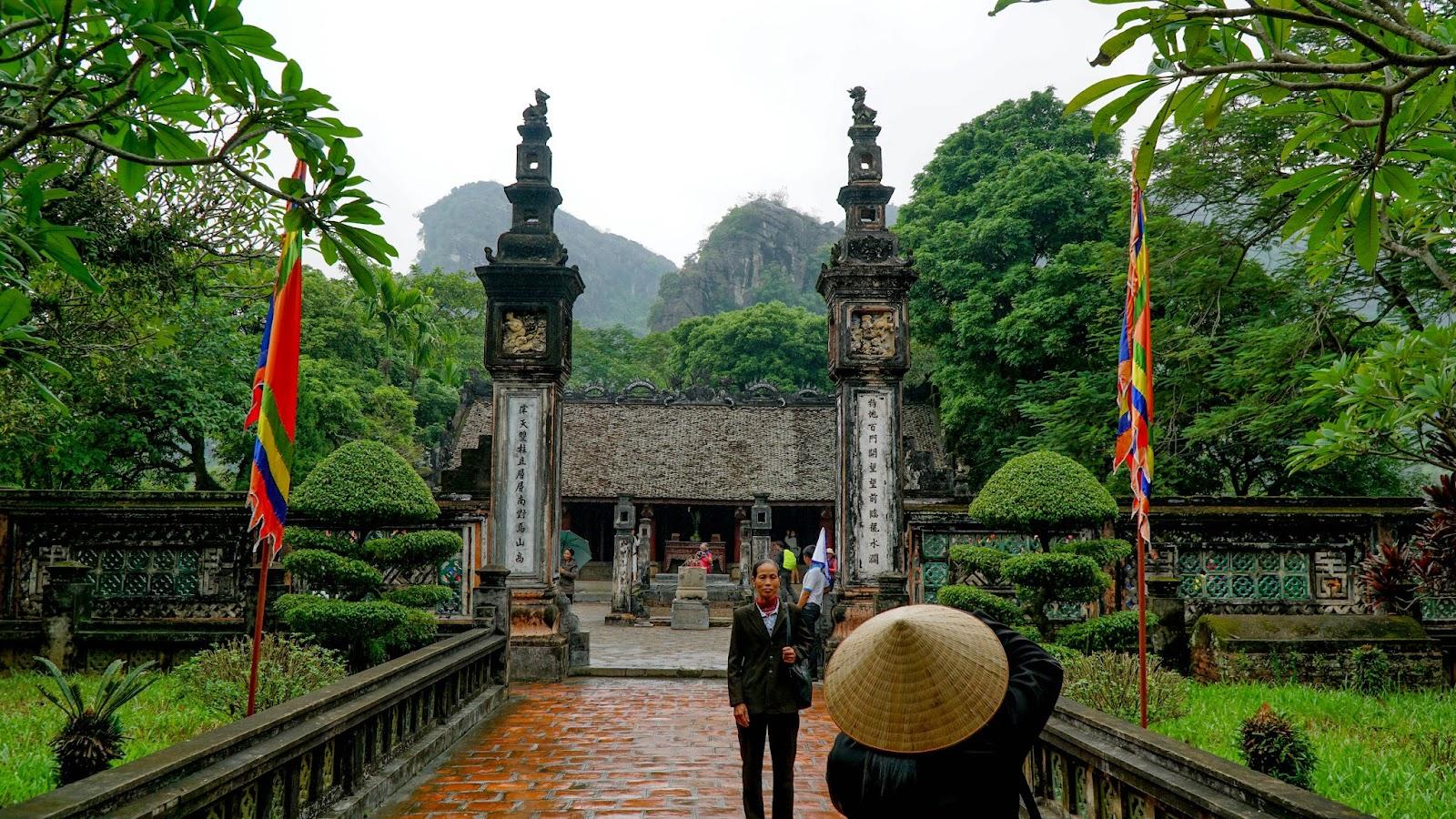 Dinh Tien Hoang temple in Hoa Lu