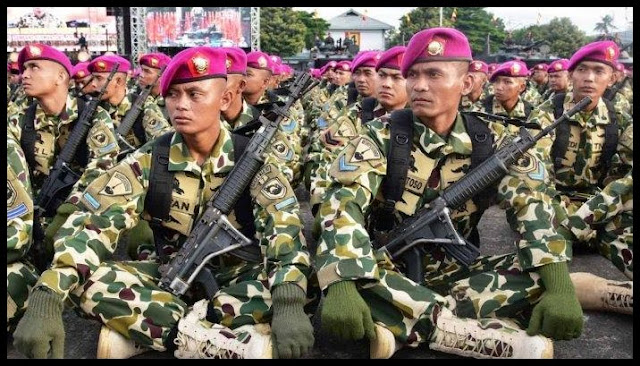 Sejarah Korps Marinir (Baret Ungu)