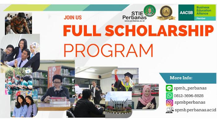 Program Beasiswa S1/D3 STIE Perbanas Surabaya 2018