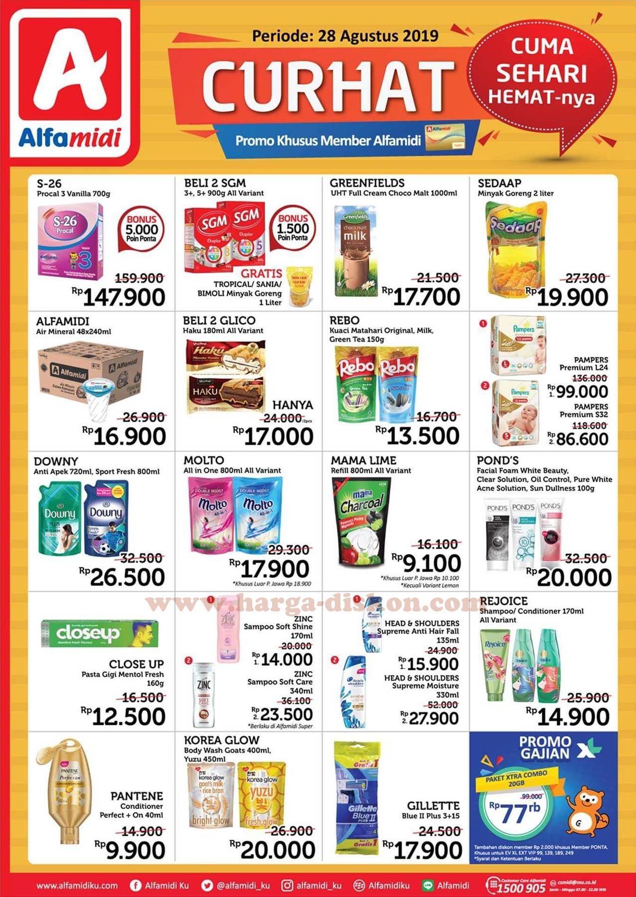 Promo Alfamidi Promo Cuma Sehari Hemat Periode 28 Agustus 2019 Harga Diskon