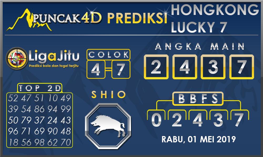 PREDIKSI TOGEL HONGKONG LUCKY7 PUNCAK4D 01 MEI 2019