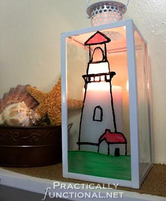 nautical candle lantern