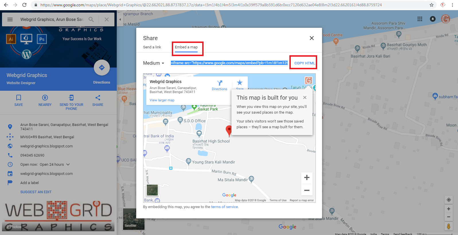 Display business address Google Map on your website on mapquest maps website, animation website, social networking website, expedia website, bing maps website, pinterest website, apple maps website, ebay website, social media website, gmail website,