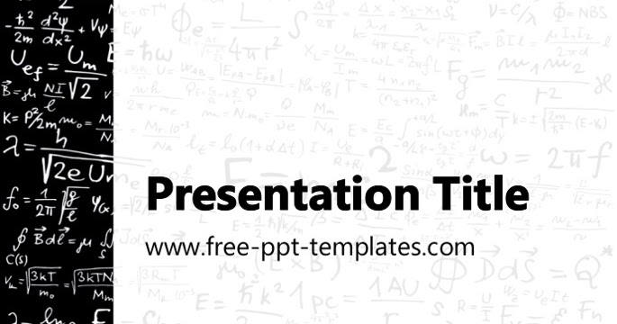 Physics Ppt Template