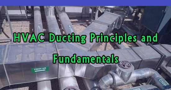 Hvac Ducting Principles And Fundamentals Free Pdf Course