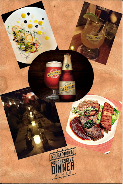 A Progressive Dinner with Negra Modelo from www.bobbiskozykitchen.com