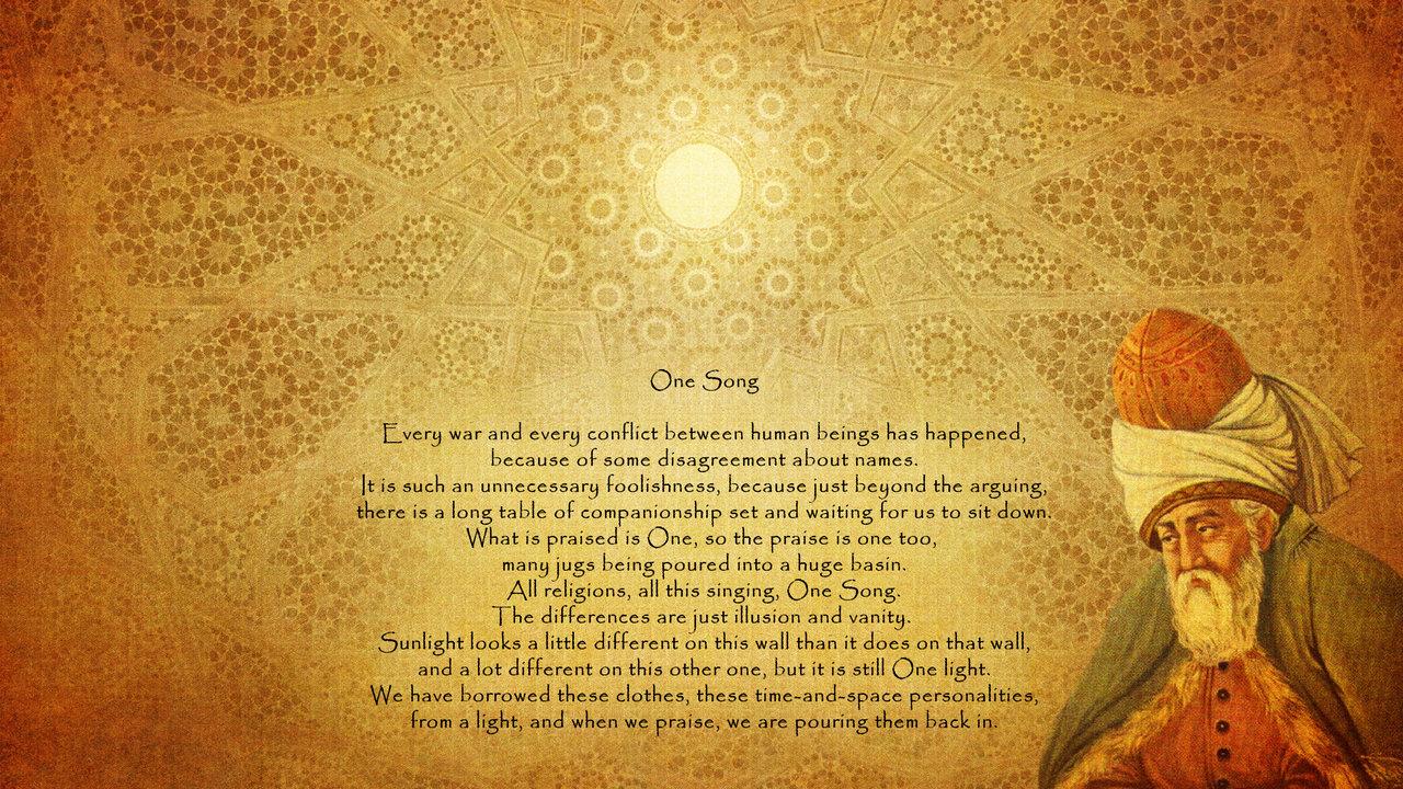 Maulana Rumi Tarian Sufi Dan Darwis Wallpaper Jalan Cinta Rumi
