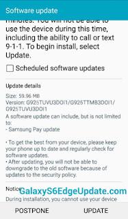 GalaxyS6edgeUpdate: T-Mobile Galaxy S6 Edge G925T OTA update