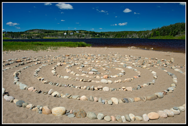 Nova Scotia; Hirtle's Beach; Beach; Atlantic; Shore; Maritimes; Barachois; Labyrinth