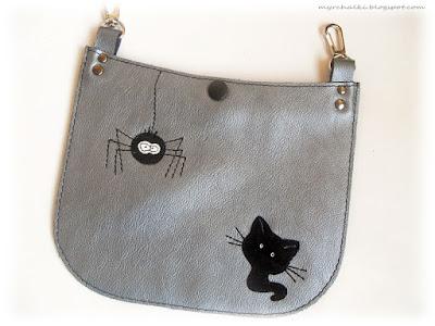 сумочка с аппликацией