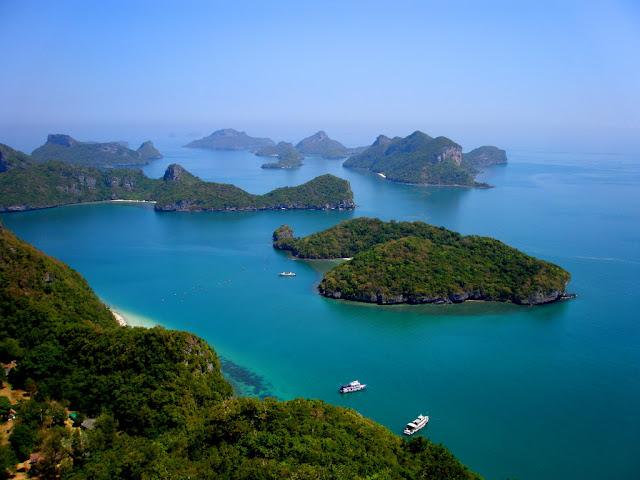 Angthong Marine Park, Koh Samui, Thailand