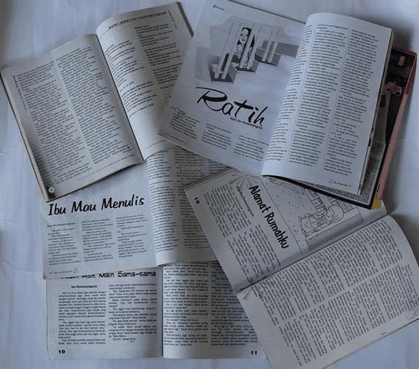 naskah yang dimuat di media cetak