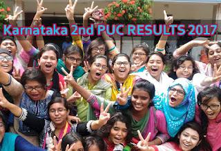 Schools9.com PUC Results 2017, Karnataka 2nd PUC Results 2017